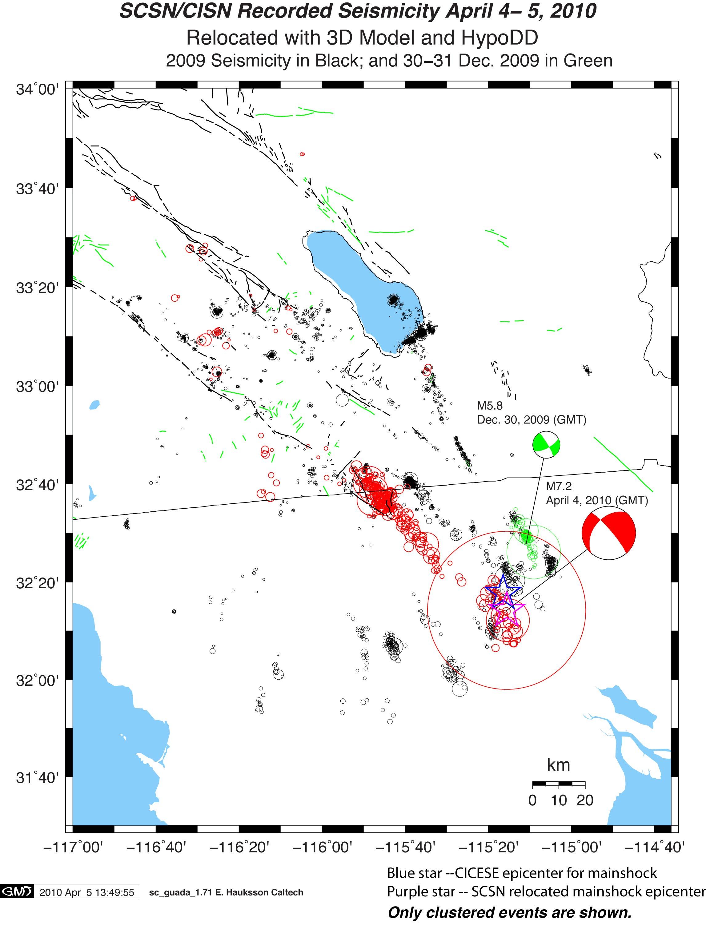 2010 04 04 - El Mayor - Cucapah Earthquake | response scec org